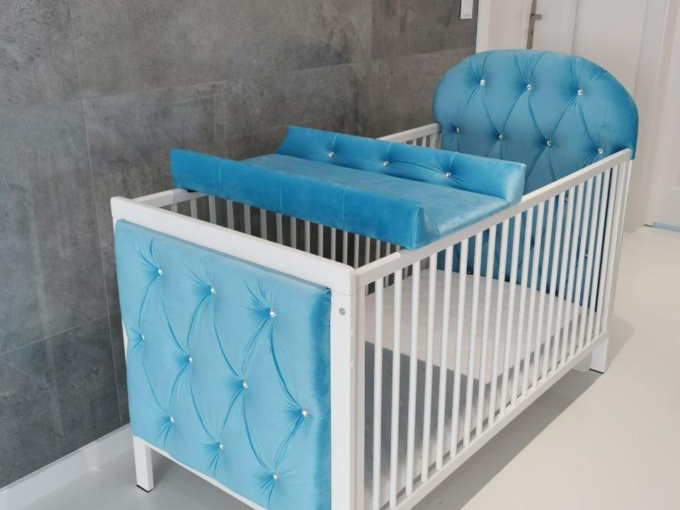 Łóżeczko Niebieskie