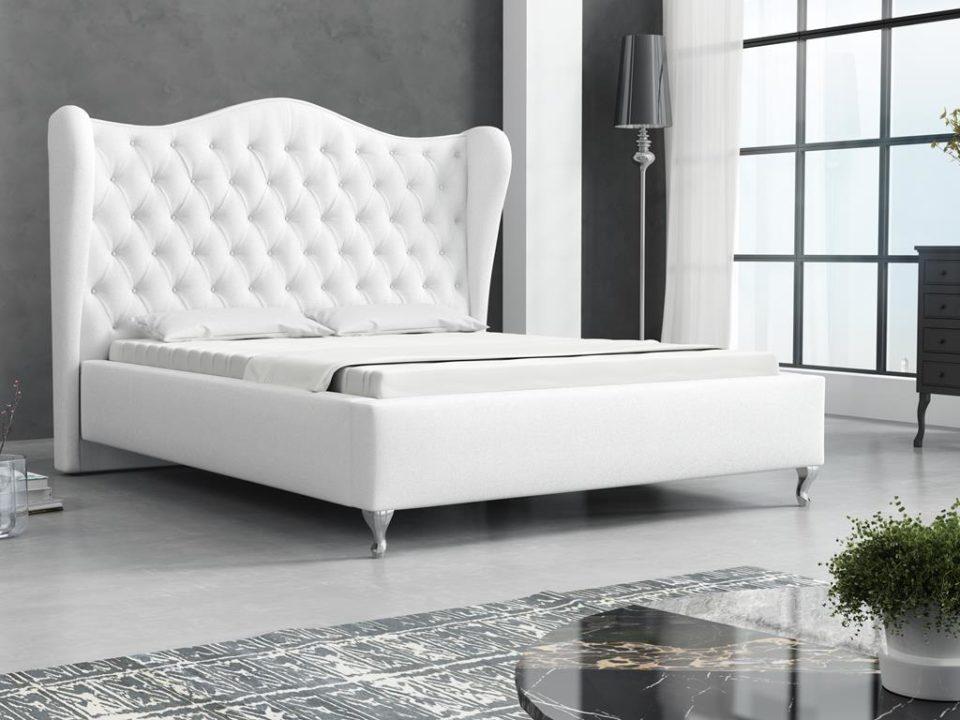 Łóżko USZAK Białe
