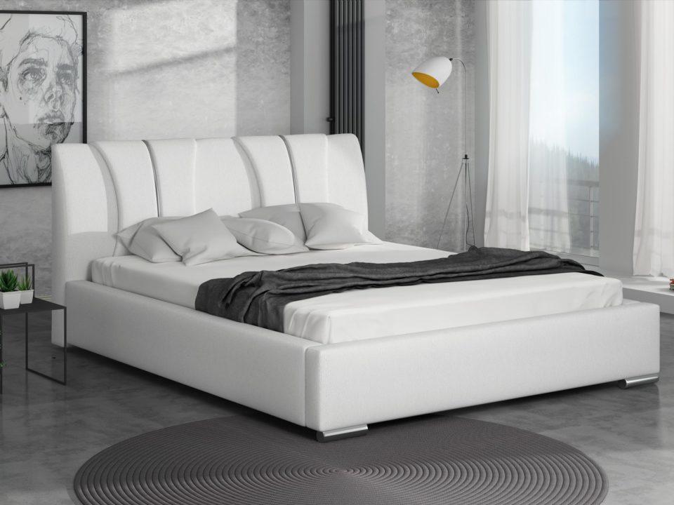 Łóżko tapicerowane Cleo