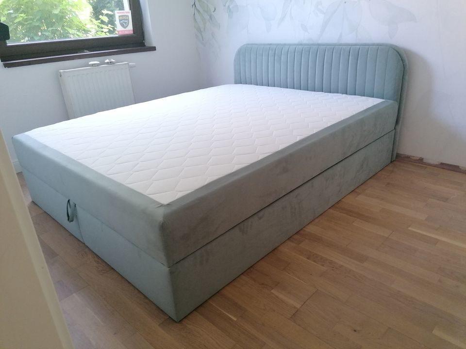 Łóżko kontynentalne Box